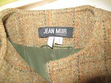 Vintage Jean Muir Harris tweed coat 12