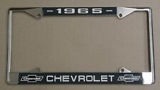 65 1965 Chevy car truck Chrome license plate frame
