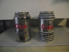 Coca Cola light special cans Jean Paul Gaultier - special edition - full and new