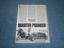 1932 Ford Highboy Roadster 1/4-Scale Remote Control Vintage Article V8 Engine