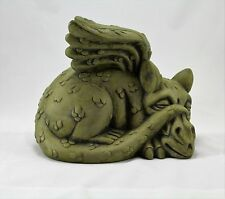 Latex Rubber Mould Mold Molds Of a Sleeping Dragon Gargoyle