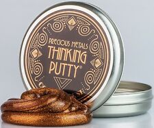 Crazy Aarons Thinking Putty 8 cm Tin Precious Metals Copper crush Silly putty