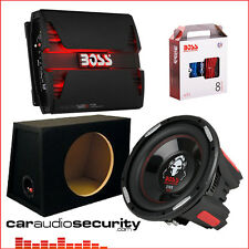 "Boss Audio Systems Phantom 12"" Bass Package Deal 2500W Car Sub & Amp Package"