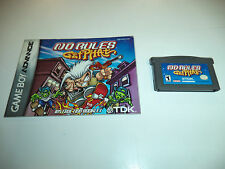 No Rules: Get Phat (Nintendo Game Boy Advance, 2001) with Instructions!