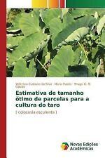 Estimativa de Tamanho Otimo de Parcelas para a Cultura Do Taro by Puiatti...