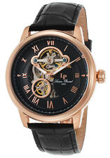 Lucien Piccard Optima Automatic Mens Open Heart Watch LP-12524-RG-01