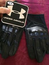 Under Armour Men's Black  UA Tactical Hard Knuckle Biker Gloves  M NWT Read Desc