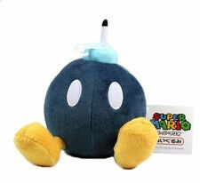 New Super Mario Bros Plush 5inch  BOB-OMB BOMB Black Doll Soft Figure Toy