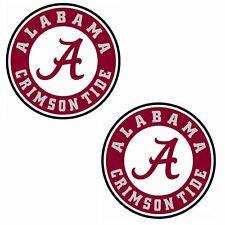 Alabama Crimson Tide Cornhole Decal - (set of 2) 12 inch