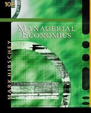 Managerial Economics by Mark Hirschey (2002, 11th edition)