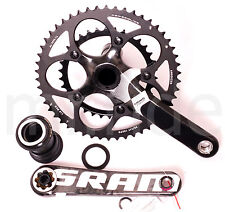 Sram Force PF30 Carbon Crank Set PF30 BB,50/34T Compact 170mm Black