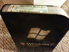 Microsoft Windows 7 Ultimate, SKU GLC-00182, Full Retail Box, 32-bit, 64-bit