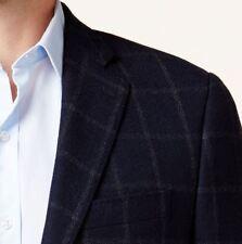 Lauren Ralph Lauren Blazer Size 50L Men Wool Suit Jacket Slim Fit Windowpane
