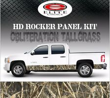"Oblit Tallgrass Camo Rocker Panel Graphic Decal Wrap Truck SUV - 12"" x 24FT"