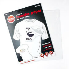 papier transfert tee shirt en vente ebay. Black Bedroom Furniture Sets. Home Design Ideas