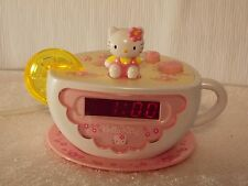 HELLO KITTY ALARM CLOCK AND RADIO CUP