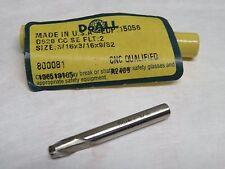 """GREENFIELD DOALL 3/16"""" 2 Flutes Mini End Mill endmill USA 15056"""