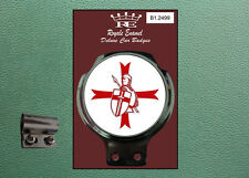 Royale Classic Car Badge & Bar Clip KNIGHTS OF THE CRUISADES ENGLAND B1.2499