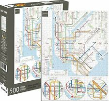 New York Subway Map 500 piece jigsaw puzzle   480mm x 350mm  (nm 62130)