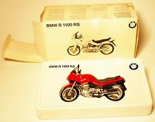 BMW R 1100 RS in rot rouge rosso roja red, Minichamps in 1:24 boxed damaged!