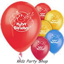 Dino Birthday Party - 8 Latex Balloons - Free Post in UK