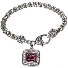 SOUTH CAROLINA GAMECOCKS  bracelet SQUARE logo  nwt