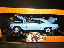 M2 Chevrolet Camaro SS396 1969 Baby Blue 1/24 Limited Edition Chase