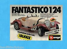 TOP985-PUBBLICITA'/ADVERTISING-1985- BURAGO - MERCEDES SSK  1:24