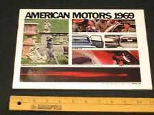 1969 AMC Full Line Prestige Catalog Sales Brochure CDN