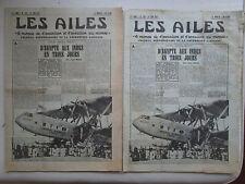 AILES 1937 834 IMPERIAL AIRWAYS EARHARDT REGNIER 12 MIGNET STRATEGIE GOLOVINE