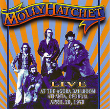 CD MOLLY HATCHET Live At The Agora Ballroom 1979 / Lynyrd Skynyrd Southern Rock