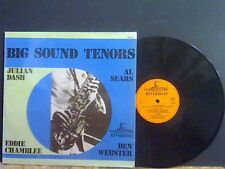 BIG SOUND TENORS  Julian Dash  Eddie Chamblee Al Sears  Ben Webster   LP   Ex !