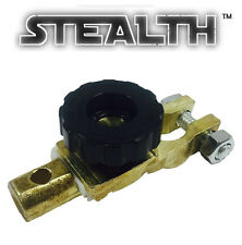 Battery Cut Off Switch / BLACK Wheel Immobilizer for Classic, Vintage & Kit Cars