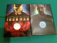 DVD IRON MAN COME NUOVO VISTO 1 SOLA VOLTA originale SIAE 2 Dischi Ultimate Edit