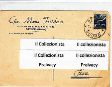 Gio.Maria Forteleoni Commerciante Ortueri (Nuoro) 1949