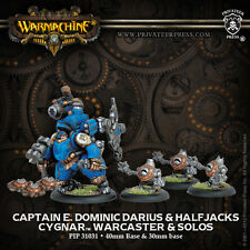 Warmachine - Cygnar: Captain E. Dominic Darius & Halfjacks  PIP31031