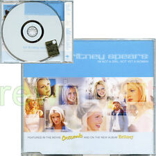 "BRITNEY SPEARS ""I'M NOT A GIRL, NOT YET A WOMAN"" RARE CDsingle 2001 PROMO EU"