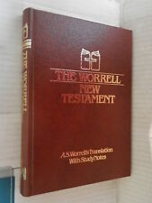 THE WORRELL NEW TESTAMENT A S Worrell s Translation Gospel Publishing House 1980