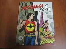 ZAGOR ORIGINALE N. 164 - LIRE 300 - QS EDICOLA