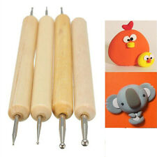 Fashion 4pcsBall Stylus Polymer Clay Pottery Ceramics Sculpting Modeling Tools