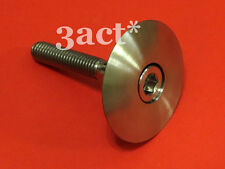 Titanium/Ti Headset Cap & M6 x 35mm Bolt - Chris King FSA Cane Creek Thomson