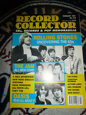 Record Collecter Magazine OASIS ROLLING STONES