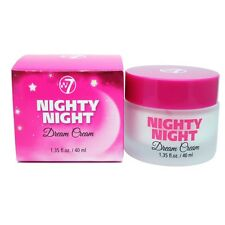 W7 nighty night dream cream moisturising night cream - 40ml