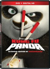 Kung Fu Panda Ultimate Edition of Awesomeness DVD NEW