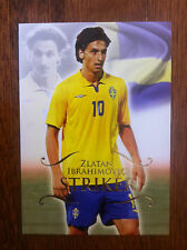 2011 Unique Futera Soccer Card - Sweden IBRAHIMOVIC Mint