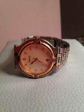 Gucci 9000G two tone Swiss made watch for men