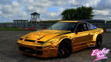 NISSAN 200SX S13 ROCKET BUNNY GREDDY ARCHES+ SIDE SKIRTS V2