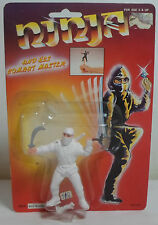 NINJA COMBAT MASTER VTG 80's ACTION FIGURE WITH WEAPONS NEW SEALED RARE B
