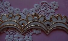 Mini Tiaras Lace silicone mold fondant cake decorating food  wedding lace food
