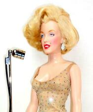 "Franklin Mint Marilyn Monroe Happy Birthday Mr. President Singing 16"" Doll w/Mic"